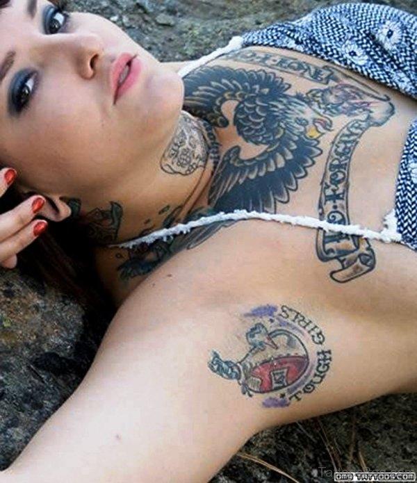 98 Fantastic Armpit Tattoos