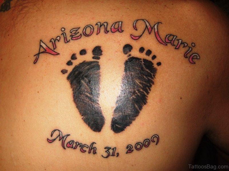 42f3ceb4f9475 56 Cute Baby Footprint Tattoos On Shoulder