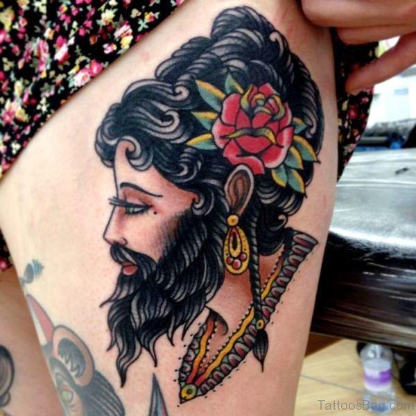 Bearded Gypsy Tattoo