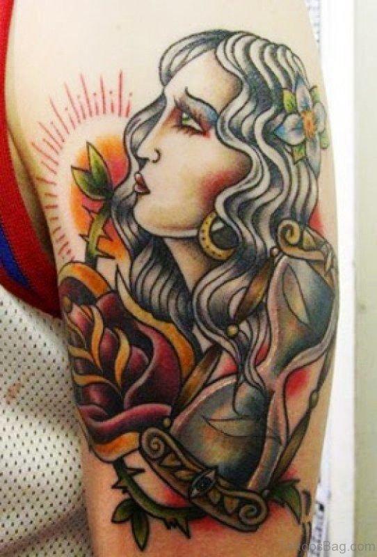 Brilliant Gypsy Tattoo Design