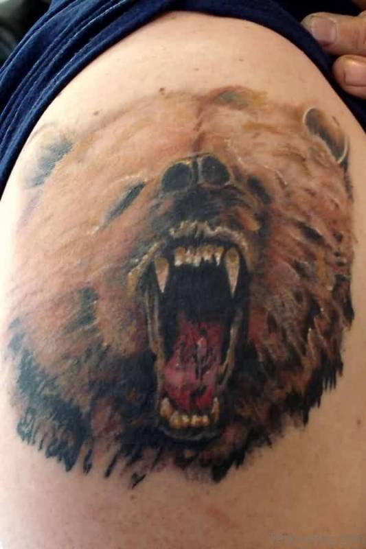 34 Lovely Brown Ink Tattoos On Shoulder