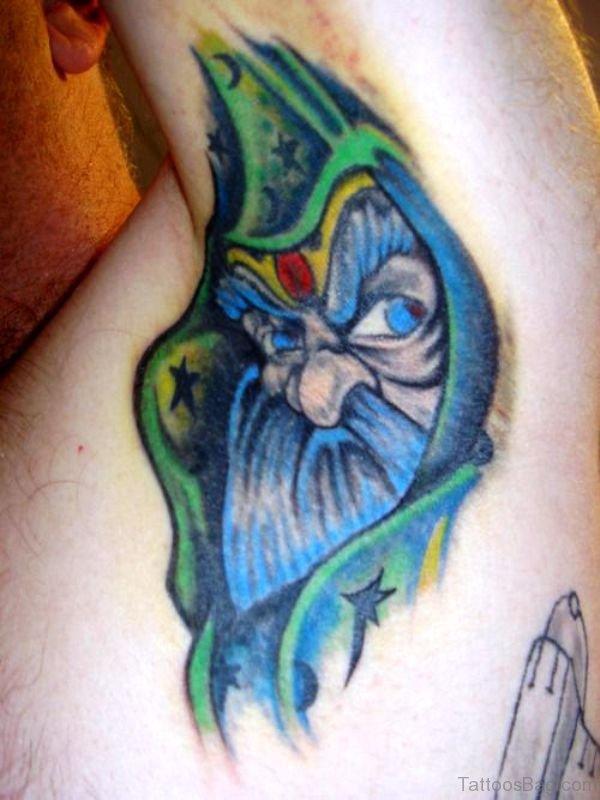 Cool Tattoo On Armpit