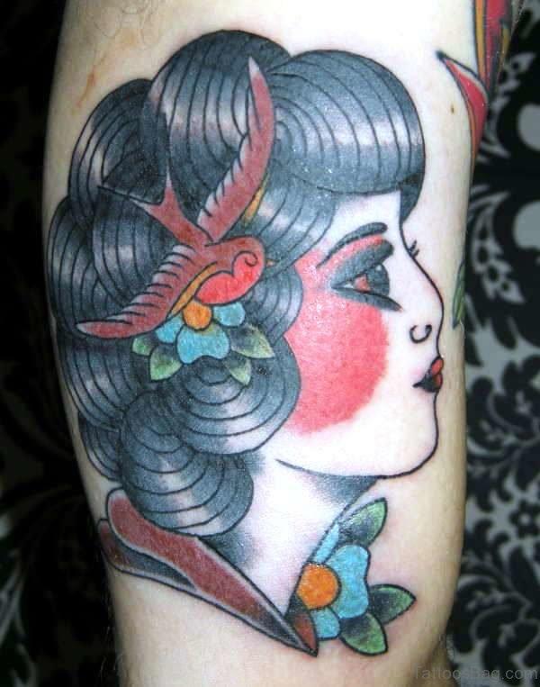 Cute Gypsy Tattoo