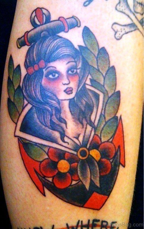 Dazzling Gypsy Tattoo Design