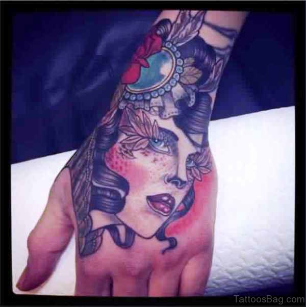 Gypsy Hand Tattoo