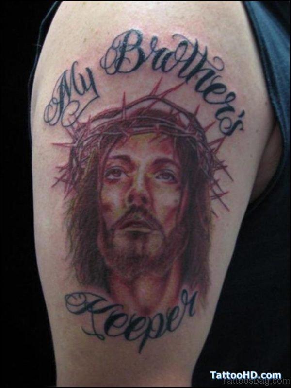 Jesus My Brother Keeper Tattoo