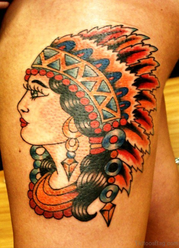 Nice Gypsy Tattoo