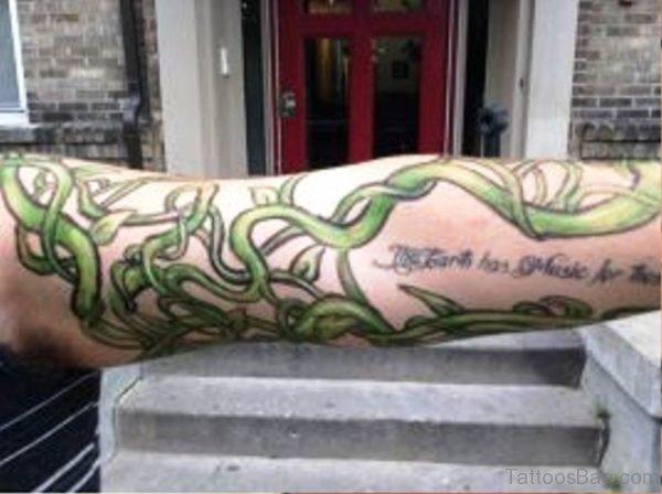 Pic Of Vine Tattoo On Arm