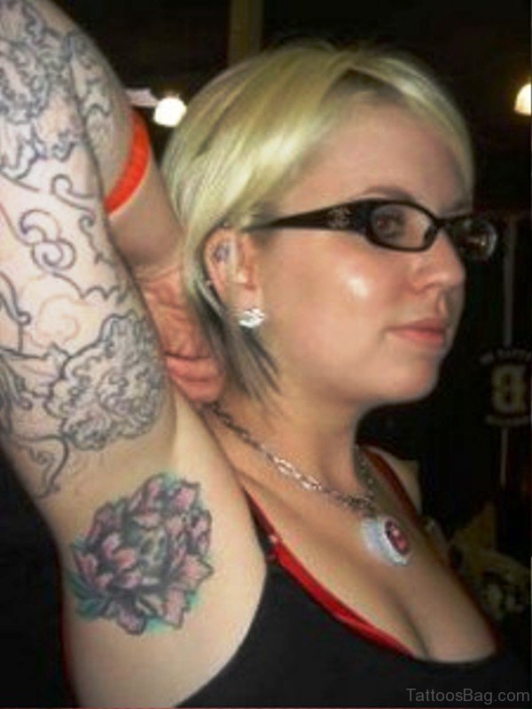 Picture Of Armpit Tattoo