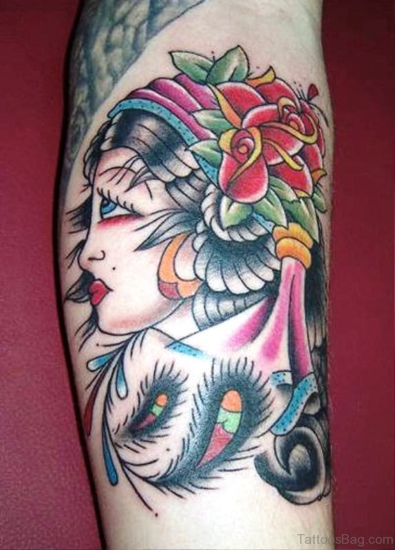 Stylish Gypsy Tattoo