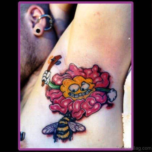 Sweet Armpit Tattoo